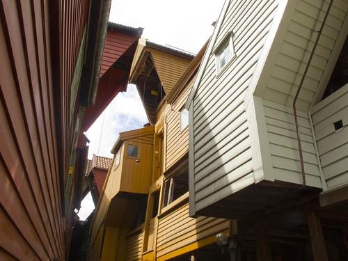 14 Casas Interior del Bryggen