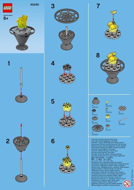 LEGO Monthly Mini Model Build – 2012-07 (July)