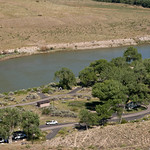 Campground at Green River