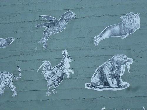 Postcards from Portland - Creating New Animals (Detail) by dyannaanfang