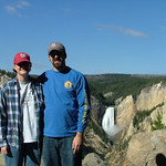 Jenn and Dave at Grand Canyon of Yellowstone