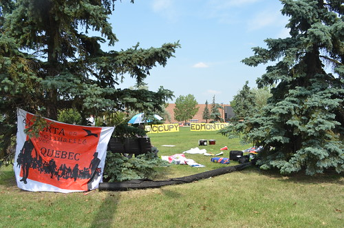 Occupy Edmonton Free BBQ