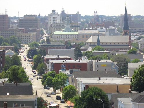 Downtown Portland, Maine