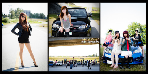 Day 568 - [UPhoto] Import Car & Model Photoshoot by SukhrajB