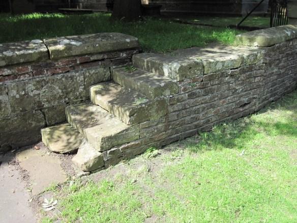Kirkleatham Mounting Step
