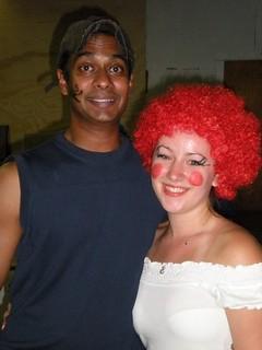 clown couple