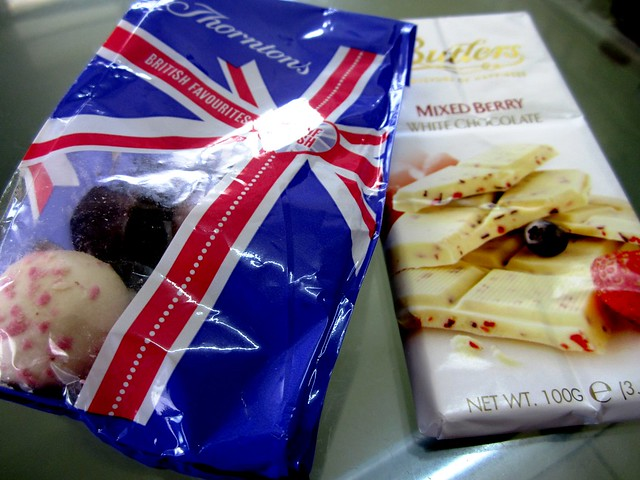 Chocs from London
