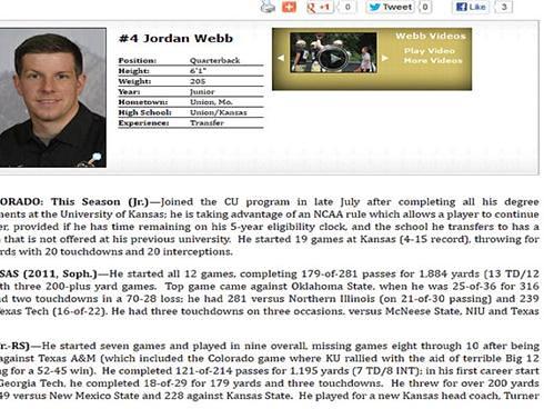 Jordan Webb - Buff Bio