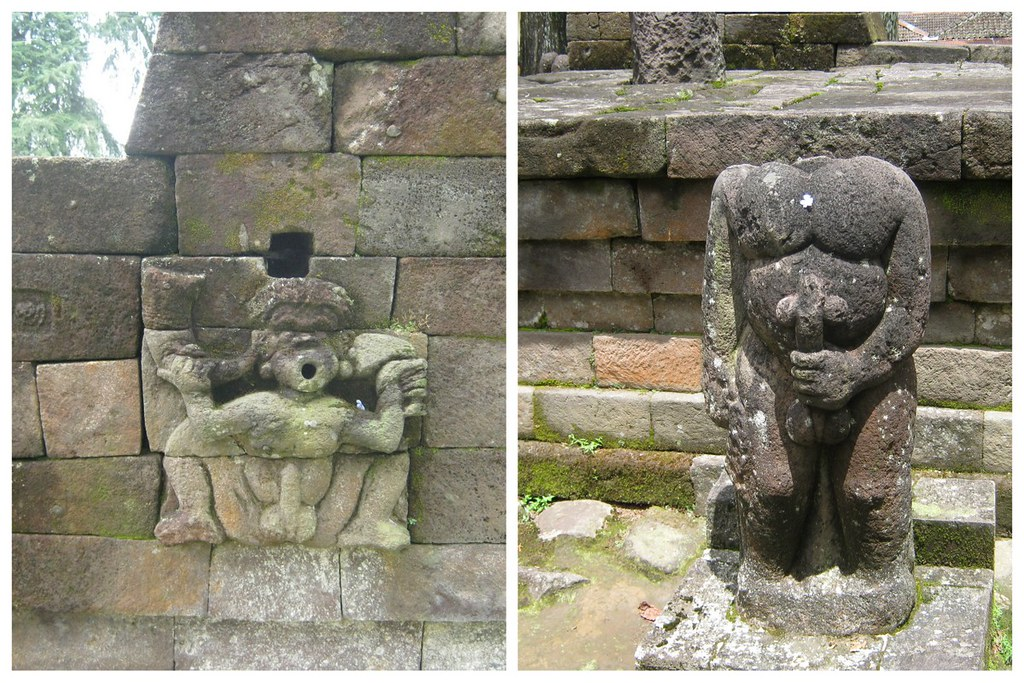 Why Candi Sukuh is called an erotic temple