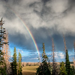 Rainbow at Cedar Breaks National Monument
