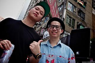 MastaMic (right) & Big Sammy (left)