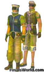Wedge, Biggs, Final Fantasy X