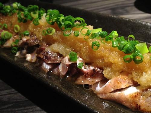 マグロほほ肉のたたき@ENZAN 新宿店