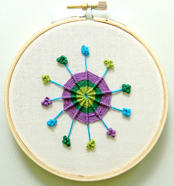 The Common Cold Virus Embroidery Hoop Art Flickr Photo