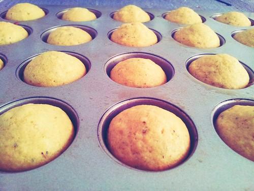 Lavender lemon muffin tops