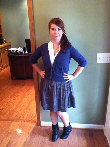 Outfit of the Day 8/9/12: Oops, I Look Like a Student