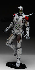 HT 1-6 Iron Man Mark IV (Hot Toys) Custom Paint Job by Zed22 (10)