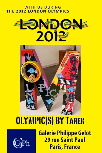"Exposition ""Olympic(s)"" • Galerie Philippe Gelot by Pegasus & Co"