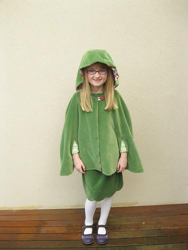 Oliver + S cape & Badminton skirt