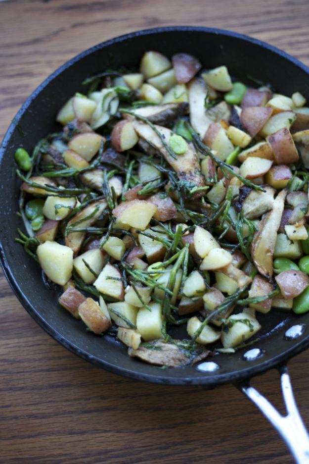 potato-sea bean combination