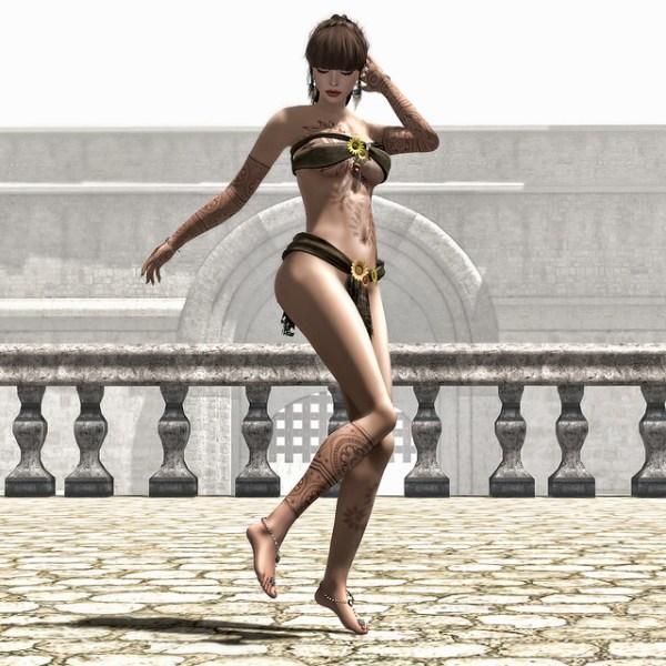 Rooftop Dancer