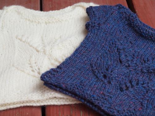 twin sweaters.