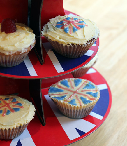 Olympic Inspired Cupcakes (6/6)