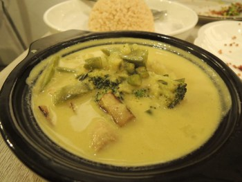 Thai Veggie Green Curry