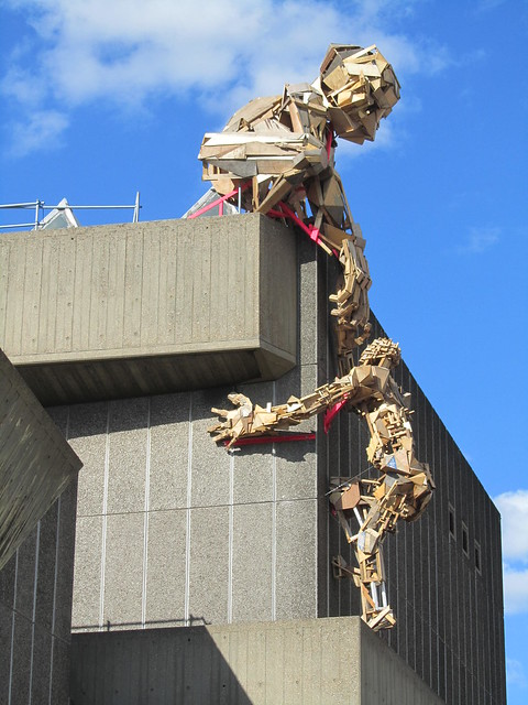 """""""Everything Is Beautiful When You Don't Look Down"""", Southbank (Festival of the World)"""