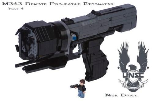Halo 4 M363 Sticky Detonator