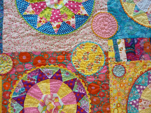colourful kaleidoscope detail