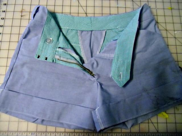 Thurlow Shorts - inside