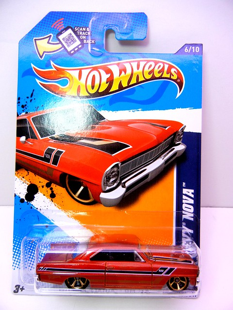 hot wheels '66 chevy nova (1)