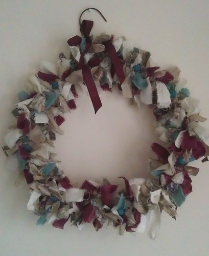 Skye's fabric wreath
