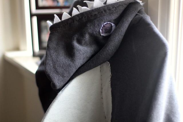 Saturday: shark costume