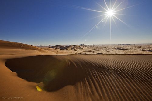 The desert under the sun by TARIQ-M