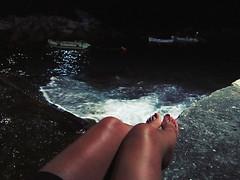Noche en Riomaggiore