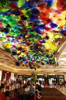 Lobby of Bellagio