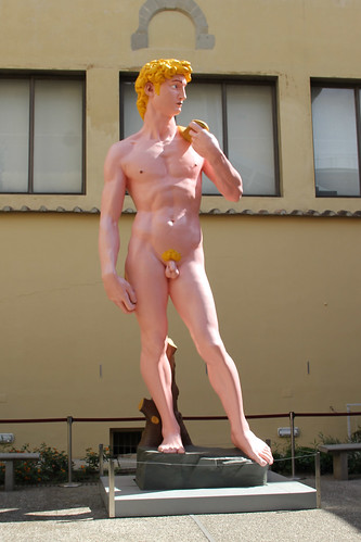 Copy of David in Courtyard
