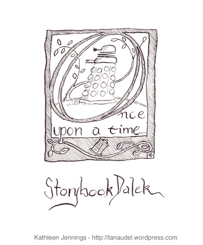 Storybook Dalek