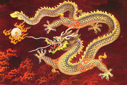Dragones Chinos: Criaturas Mitologicas y Legendarias de China