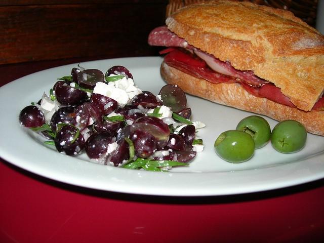 Grape Tarragon Salad