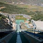 Atop the 120K Ski Jump