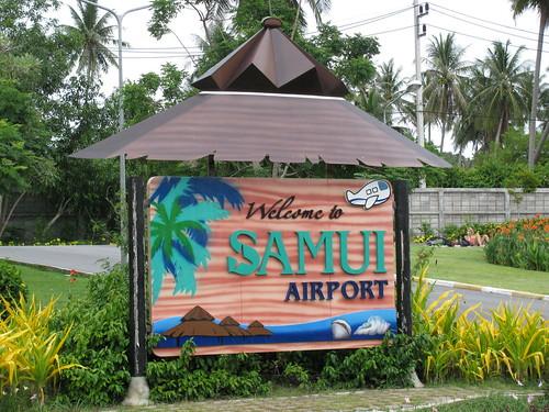 Koh Samui Airport by holidaypointau