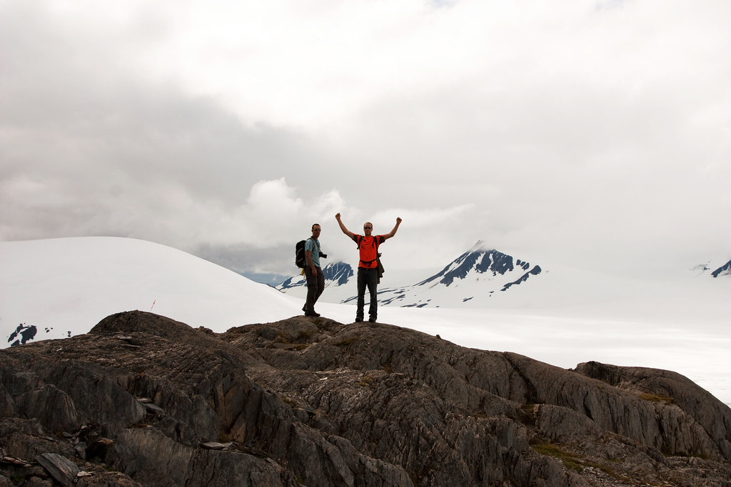 Harding Ice Field Hike