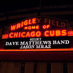 Wrigley Field - Dave Matthews and Jason Mraz