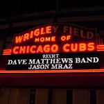 Wrigley Field - Dave Matthews and Jason Mraz