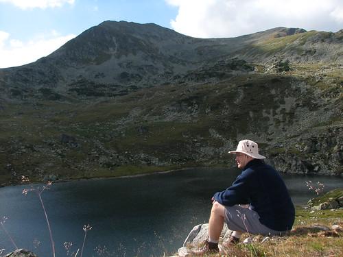Pe malul lacului Bucura