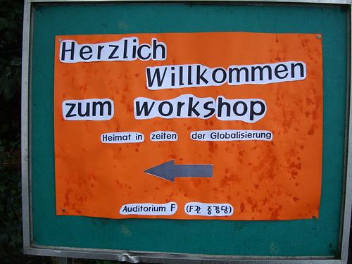 Heimat-Workshop by Jens-Olaf