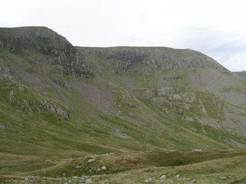 High Crag and Nethermost Pike from Ruthwaite Cove
